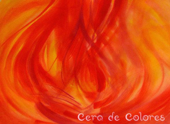 pintura del temperamento colérico