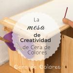 Mesa de Creatividad Cera de Colores