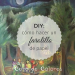 DIY. Farolillo de papel