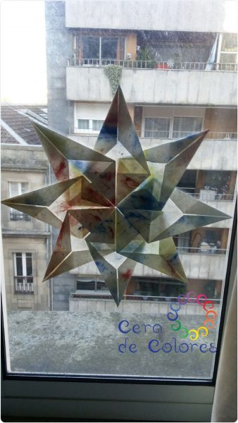 DIY Estrella Waldorf Navidad