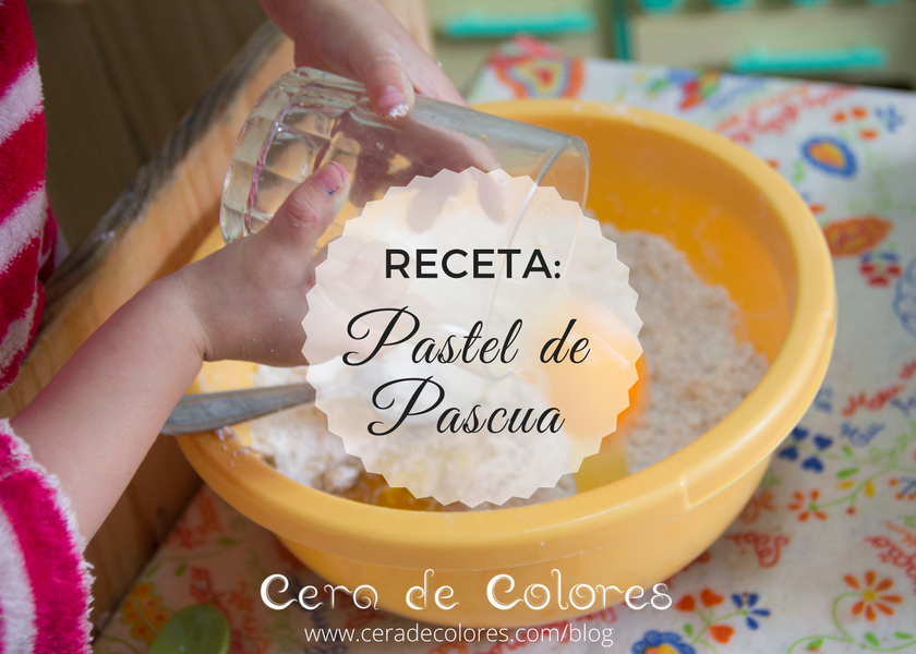 receta pastel de Pascua