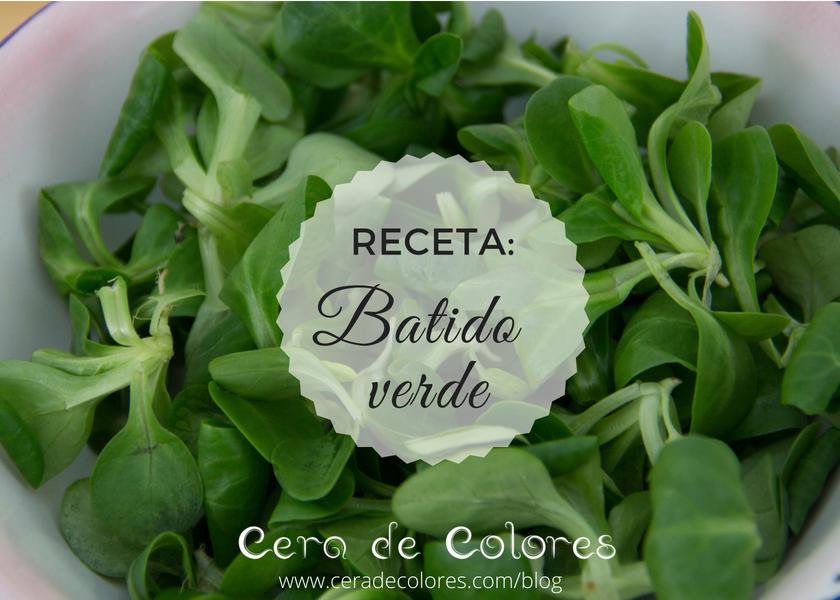 receta batido verde
