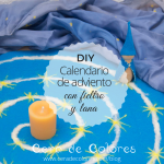 Calendario de Adviento 2018. DIY