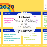 Talleres 2019-2020 y SORTEO