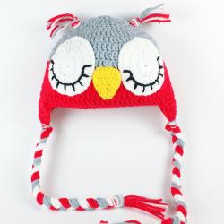 Gorro Búho Crochet