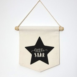 "Banderola ""Little Star"""