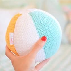 Pelota Sonajero Crochet