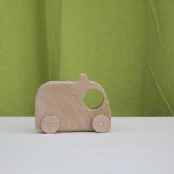 Ambulancia de madera