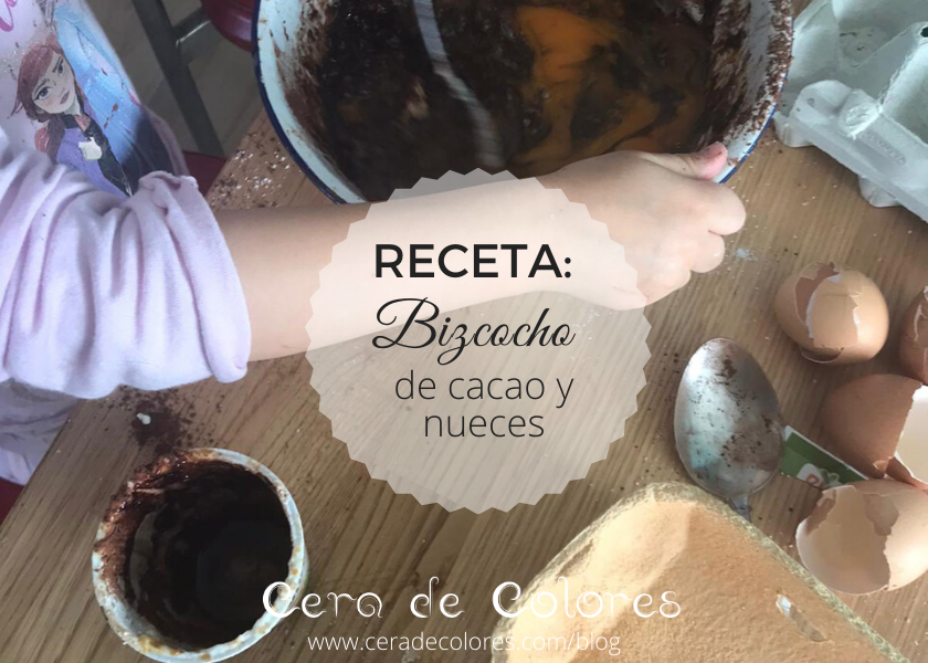 receta de bizcocho de cacao