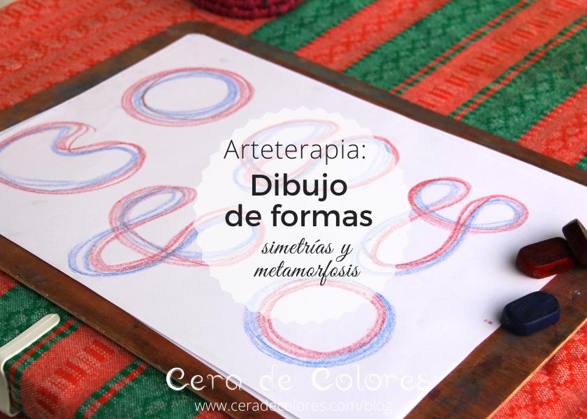 arteterapia: dibujo de simetrias